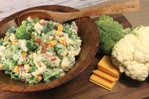 Amish-Style Broccoli Salad