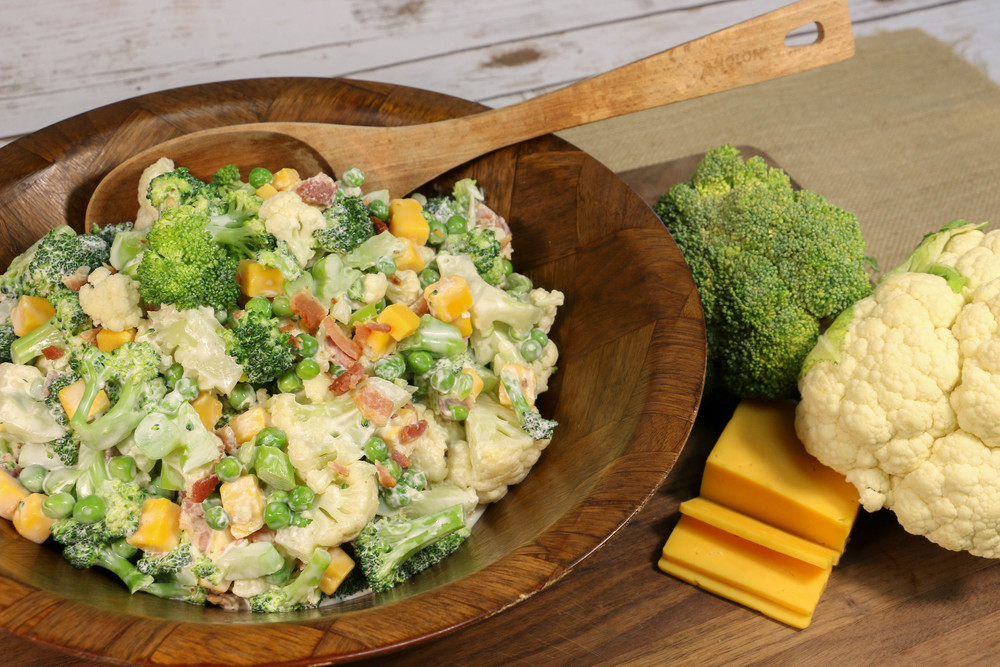 Amish Broccoli Salad Recipelion Com