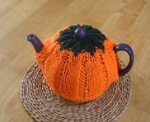 Pumpkin Autumn Tea Cozy