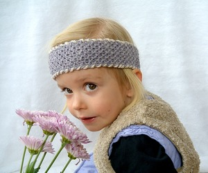 Easy Seed Stitch Light Headband
