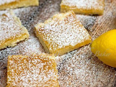 Slow Cooker Lemon Squares