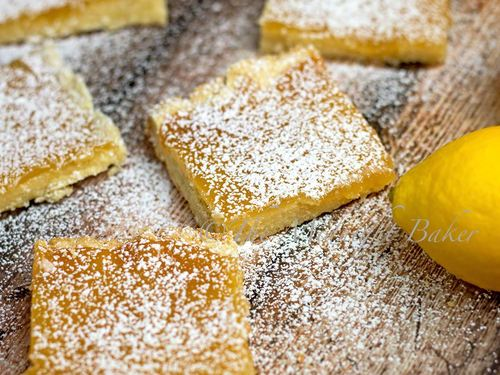 Slow Cooker Lemon Squares