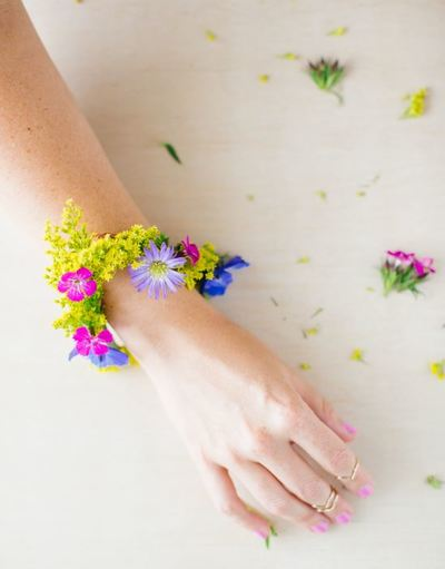 Summer Blossoms DIY Bracelet