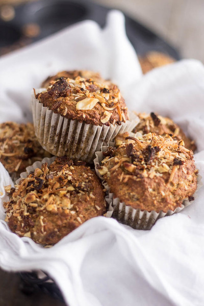 Wholesome Banana Walnut Muffins