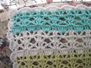 Springtime Lace Easy Crochet Afghan Pattern