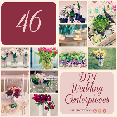 46 DIY Wedding Centerpieces