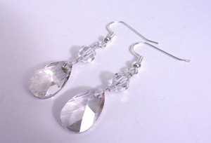 Crystal Dewdrop Earrings