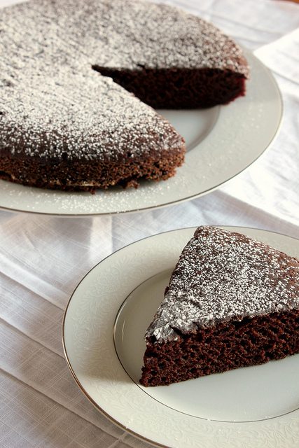 Shortcut Chocolate Cake