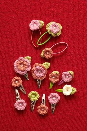 Cute Crochet Flower Hair Accessories