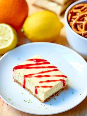 Lime Cheesecake Bars