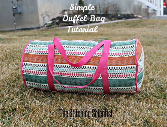 Simple Striped Duffle Bag Pattern Allfreesewing Com