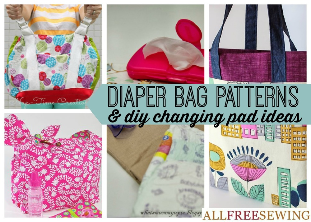 21 Diaper Bag Patterns Diy Changing Pad Ideas