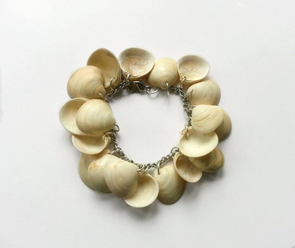 Seashell Cluster Diy Bracelet Allfreejewelrymaking Com