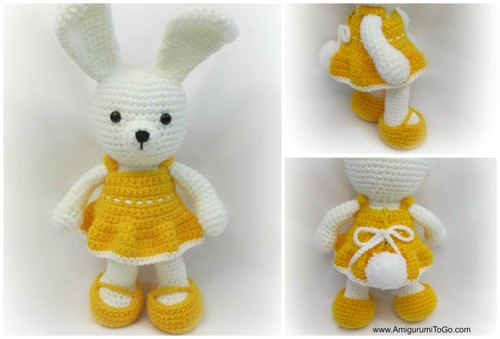 Cheerful Spring Easter Bunny