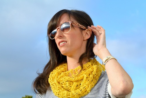Trendy Lace Crochet Scarf Pattern
