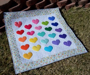 Applique of heart quilt danak waterpenny flickr