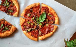 Pizza Hut Inspired Pizza Crust