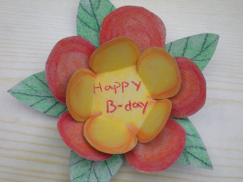 How to Make a Flower Birthday Card