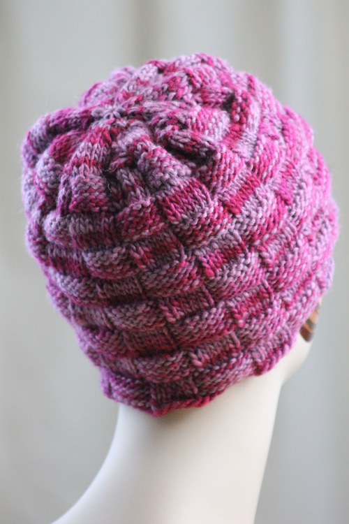 Beauty of a Basketweave Hat 2
