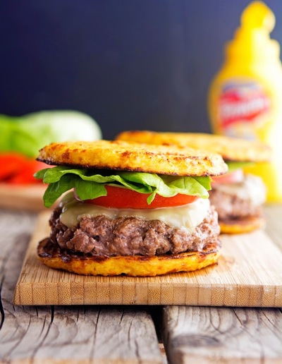 Cauliflower Crust Hamburgers
