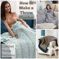 How to Make a Throw Blanket: 23 Crochet Throw Patterns