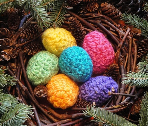 Fauxchet Crochet Easter Eggs