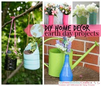 16 DIY Home Decor Earth Day Projects
