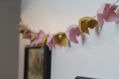 Egg Carton DIY Garland