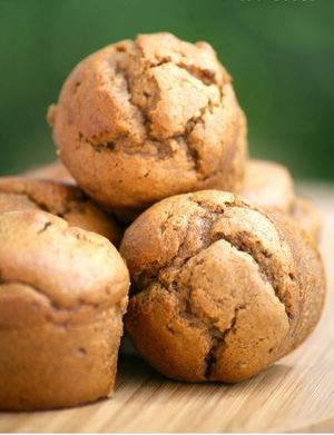 Flourless Almond Butter Muffins