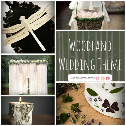 Wedding Themes: Woodland Wedding