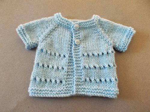 Favorite Preemie Baby Cardigan Allfreeknitting Com