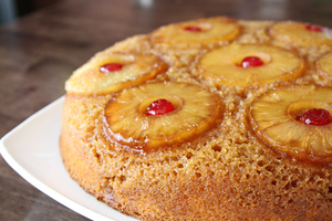Southern Skillet Pineapple Upside Down Cake