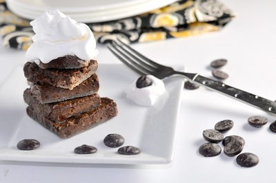 Low Carb Chocolate Chunk Brownies