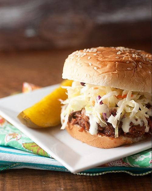 Alabama Style Pulled Pork Sandwiches