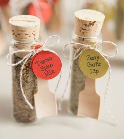 Spice Up Your Wedding Favors