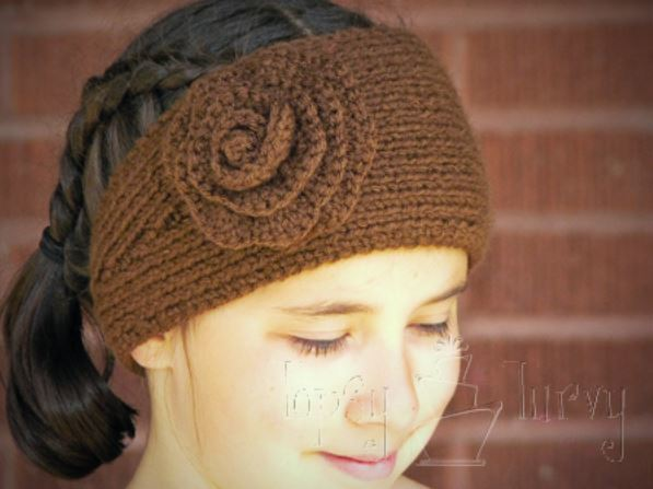 Ridiculously Simple Knit and Crochet Headband ...