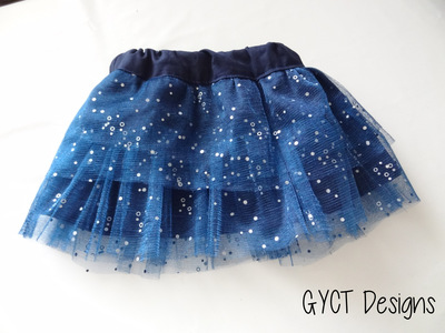 Special Occasion Girls' Skirt Pattern