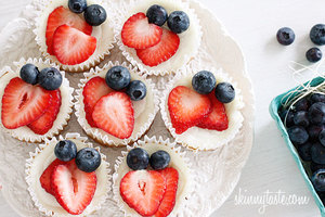 100-Calorie Greek Yogurt Cupcakes