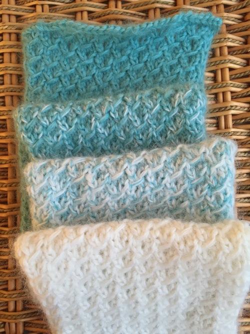 Friendship Knit Scarflet Allfreeknitting Com