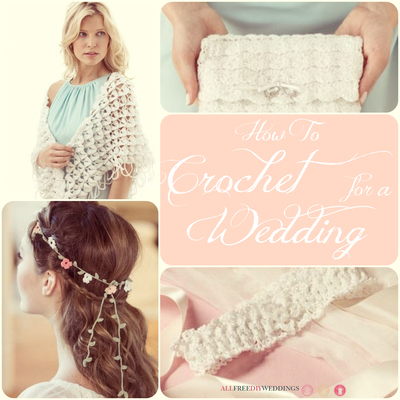 55 Free Crochet Patterns How to Crochet for a Wedding