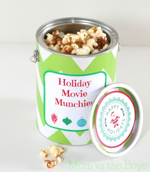 DIY Christmas Gift In a Can