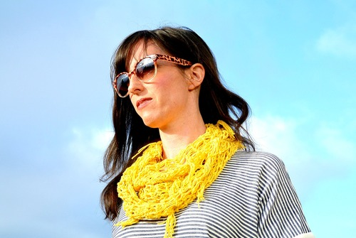 Easiest Trendy Lace Crochet Scarf