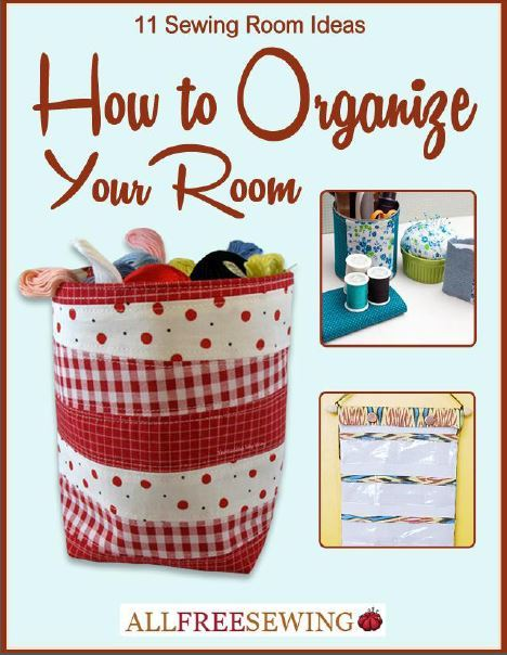 11 Sewing Room Ideas Free eBook