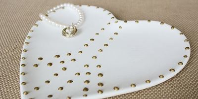 Peace And Love Jewelry Dish Allfreediyweddings Com