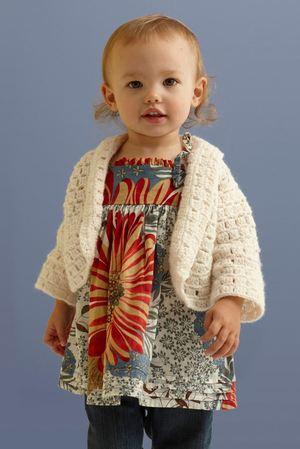 Flutter Flower Girl Crochet Top