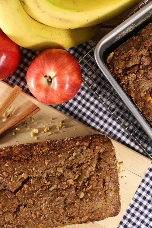 Shortcut Amish Banana Bread