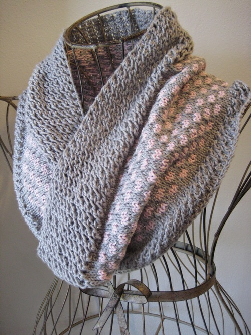 Fresh Petals Knit Cowl