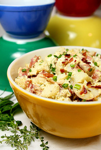 Sour Cream and Bacon Potato Salad