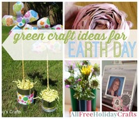 29 Green Craft Ideas for Earth Day