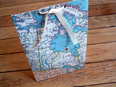 Put It on the Map Gift Bag